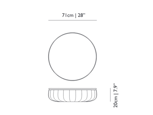 moooi container bowl dimensions