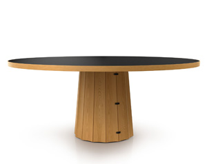 container table bodhi with linoak top