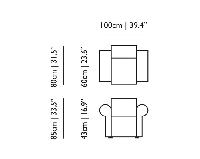 moooi labyrinth chair dimensions