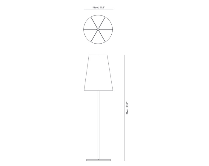 moooi light shade shade floor lamp dimensions