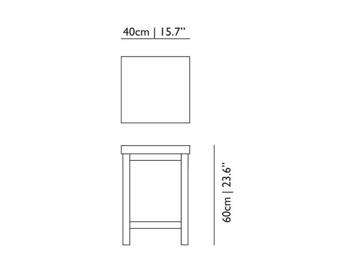 moooi paper side table dimensions