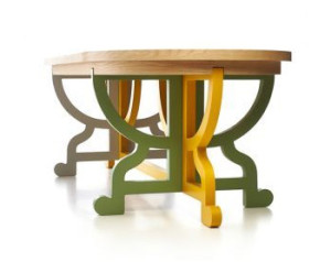 moooi paper table patchwork