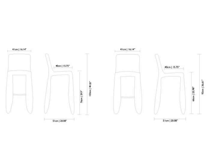 monster bar stool divina melange dimensions